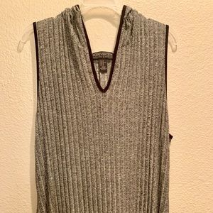Long gray tank sleeved forever21 dress